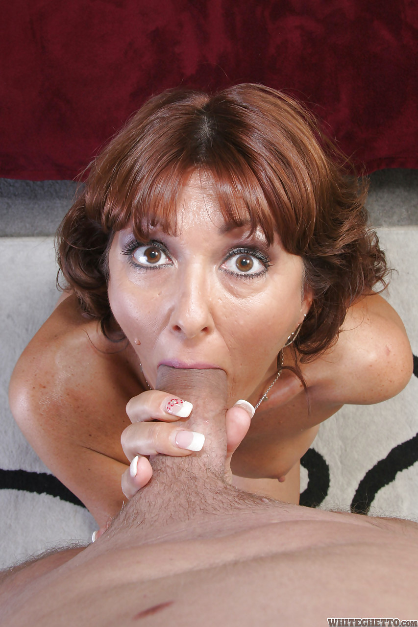 mature women getting their tits sucked
